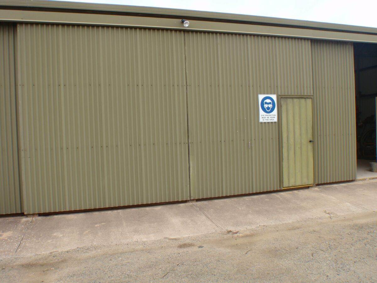 Sliding Workshop Doors Integrity Doors And Engineering